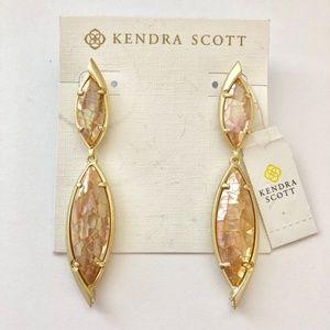 Kendra Scott Maisey Mother of Pearl Drop Earrings